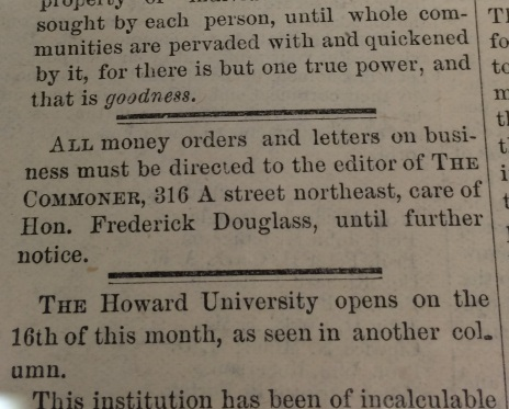 The Commoner, Vol. 1, No. 1 _ 10 Sept. 1875 - money orders to FD