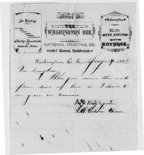 Frederick Douglass Papers, Library of Congress
