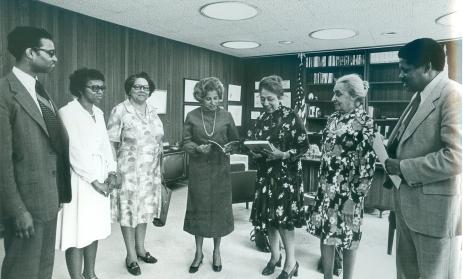 Don_with FDMHA and Secretary Patricia Roberts Harris