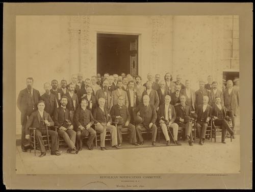 Republican Notification Committee, Washington, D.C., Monday, June 20th, 1892