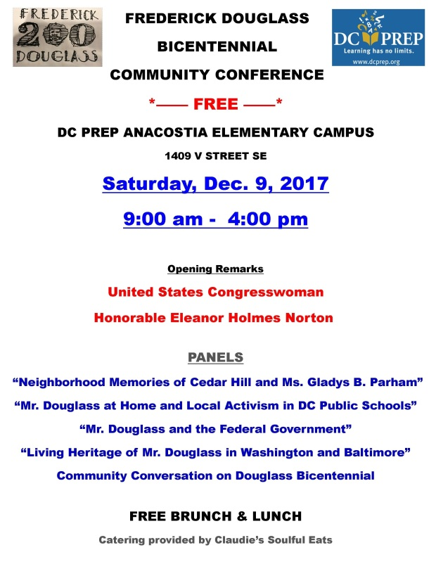 RD_Fred Douglass Community Conf_Flyer_12.9.2017
