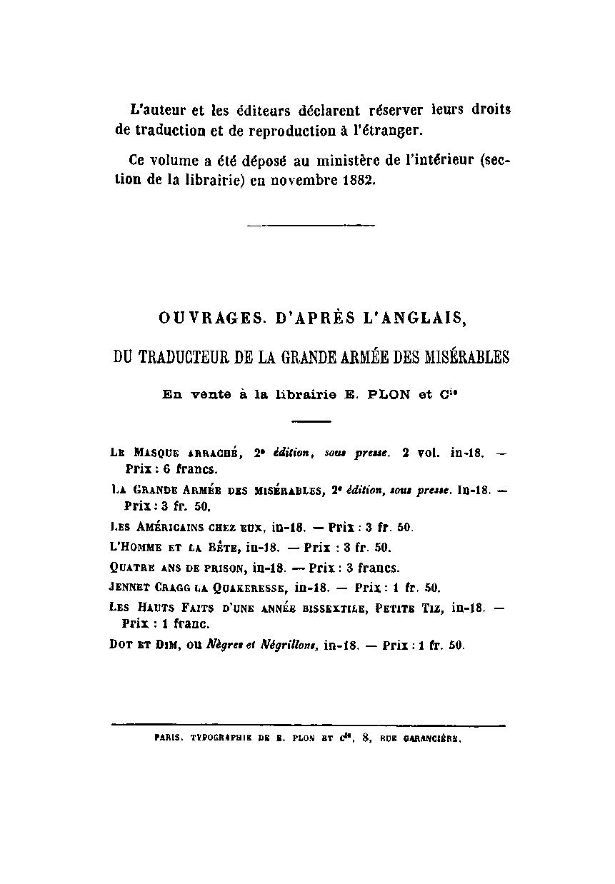 FD in Paris _ p. 7 - where it was sold (1883 translation)