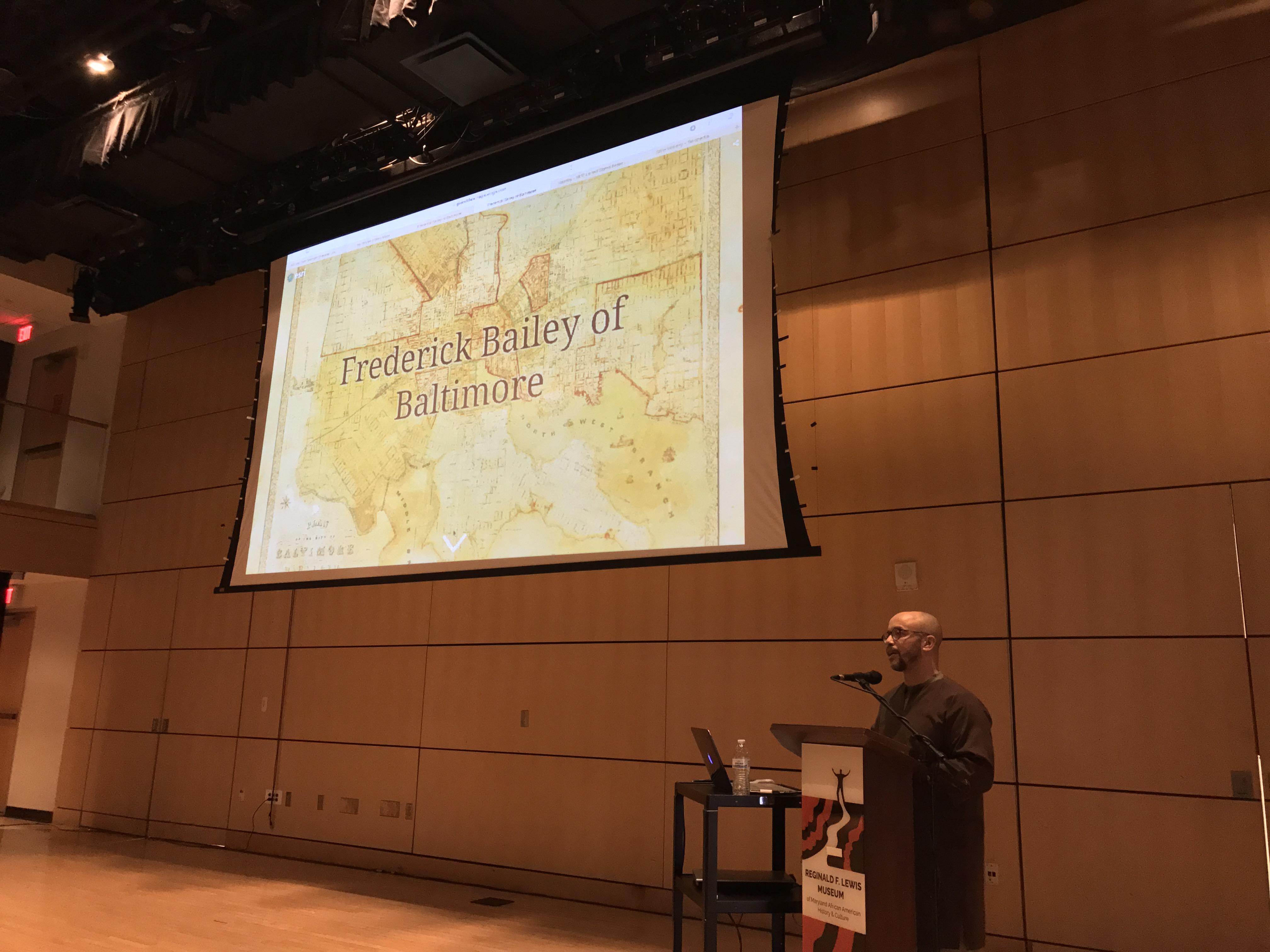 Frederick Bailey of Baltimore _ LJ_JHU_2.10.2018