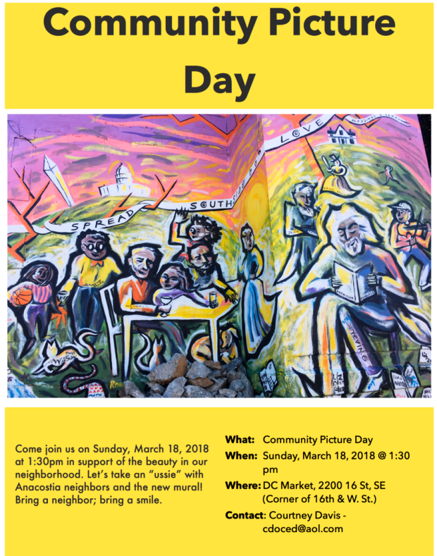 Community+Picture+Day+with+FD+Mural
