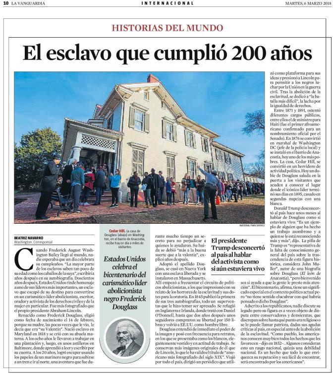 LaVanguardia _ el barrio de Anacostia _ FD 200th - 2018