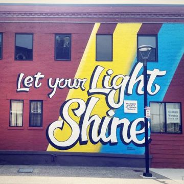 Image result for let your light shine rochester quakers
