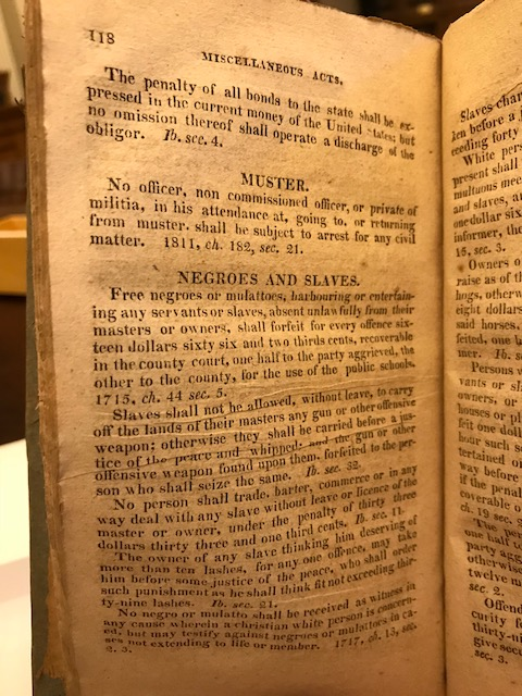 MD Justice _ page 118 _ Negroes & Slaves