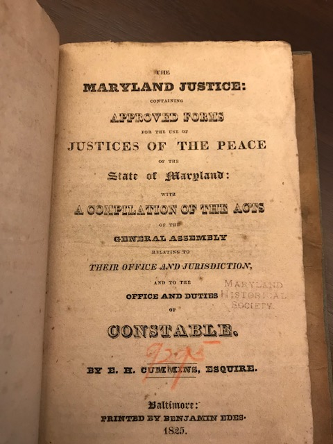 MD Justice _ title page _ MDHS