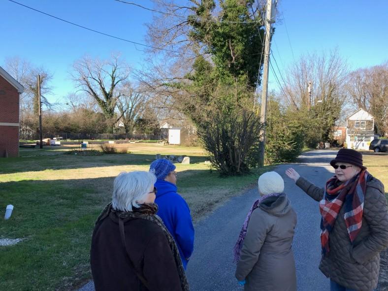 FD in Cambridge _ walking tour -- Waugh Chapel community garden