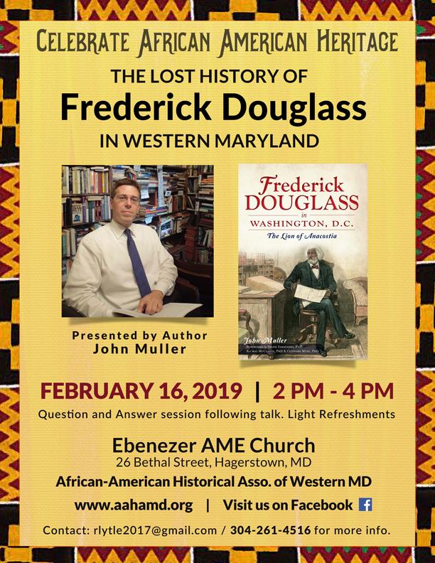Frederick-Douglass in Hagerstown _ Feb 16, 2019