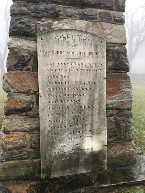 GATHLAND _ War Correspondent's Memorial Arch - Lloyd Lowndes