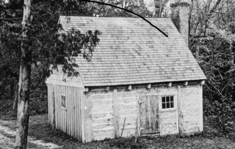 log cabin - MD